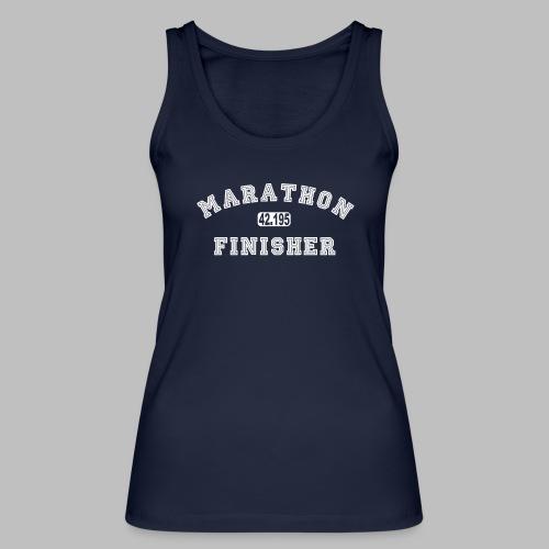 Marathon 42.195km Finisher Geschenkidee - Frauen Bio Tank Top von Stanley & Stella