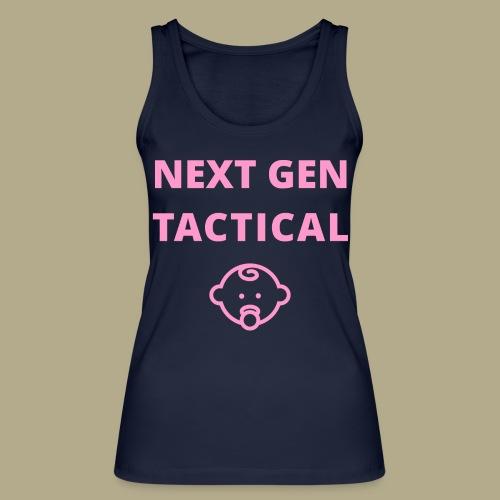 Tactical Baby Girl - Vrouwen bio tanktop van Stanley & Stella