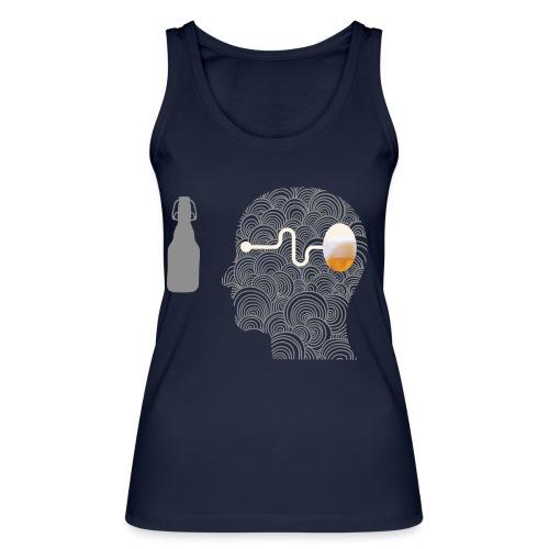 WYSIWYG Beer Shirt - Frauen Bio Tank Top von Stanley & Stella