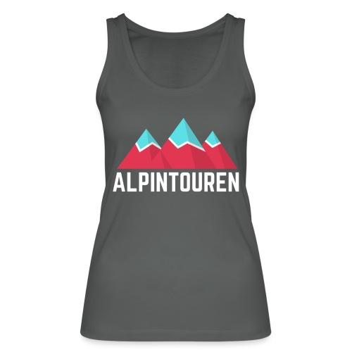 Alpintouren Logo - Frauen Bio Tank Top von Stanley & Stella