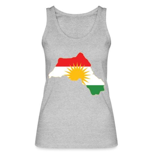 Kurdistan Flag Map - Frauen Bio Tank Top von Stanley & Stella