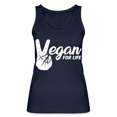 Vegano per la vita - Top ecologico da donna di Stanley & Stella