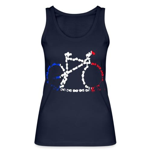 French bike chain - Women's Organic Tank Top by Stanley & Stella