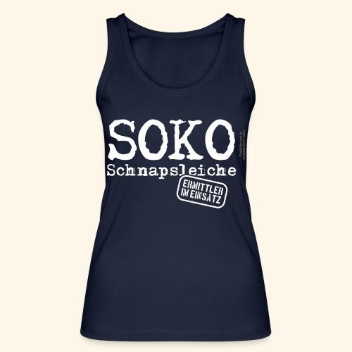 Sauf T Shirt SOKO Schnapsleiche - Frauen Bio Tank Top von Stanley & Stella