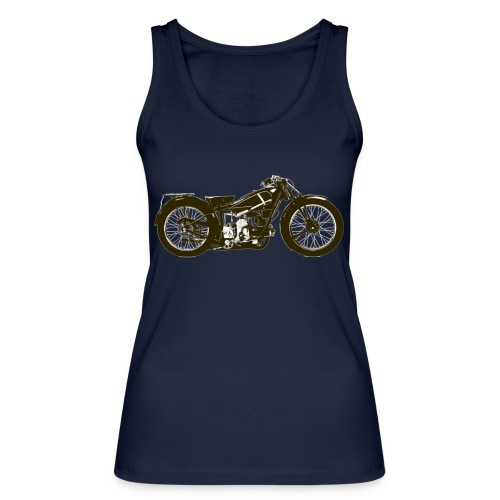 Classic Cafe Racer - Women's Organic Tank Top by Stanley & Stella