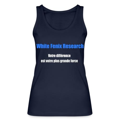 WFR Votre différence est votre plus grande force - Débardeur bio Femme