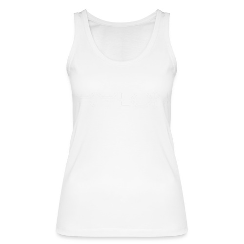 Xylon Handcrafted Guitars (name only logo white) - Women's Organic Tank Top by Stanley & Stella