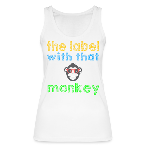 the label with that monkey - Frauen Bio Tank Top von Stanley & Stella