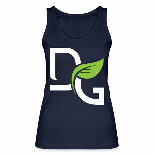 DrGreen Logo Symbol weiss grün - Frauen Bio Tank Top von Stanley & Stella