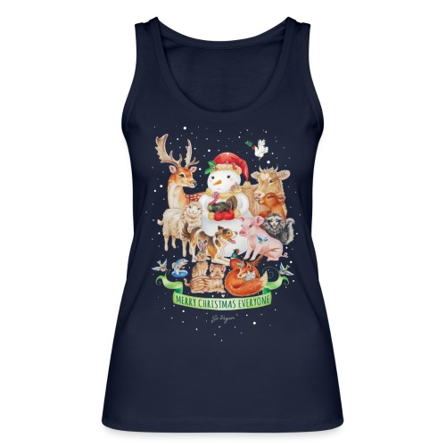 Vegan Christmas - Women's Organic Tank Top by Stanley & Stella