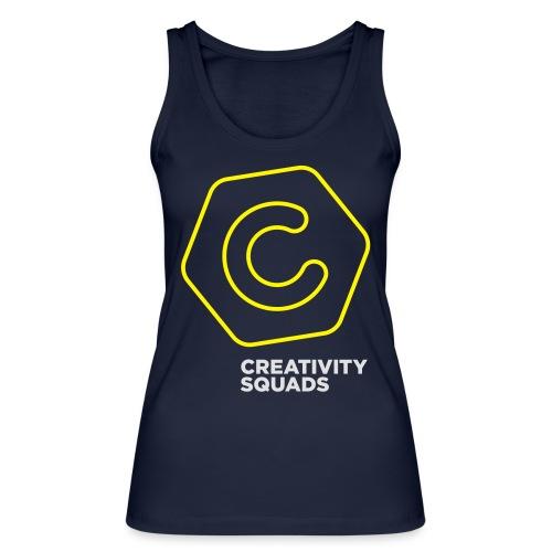 CreativitySquads 002 - Stanley & Stellan naisten luomutanktoppi