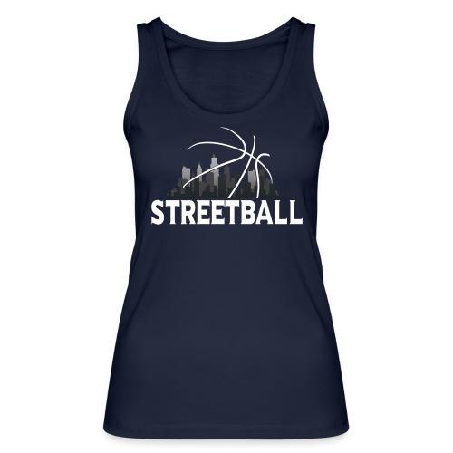 Streetball Skyline - Street basketball - Women's Organic Tank Top by Stanley & Stella