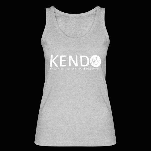 Finnish Kendo Team Text - Stanley & Stellan naisten luomutanktoppi