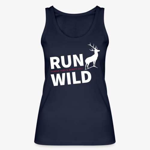 RUN WILD Temple Yard & Beauty Hill - Frauen Bio Tank Top von Stanley & Stella
