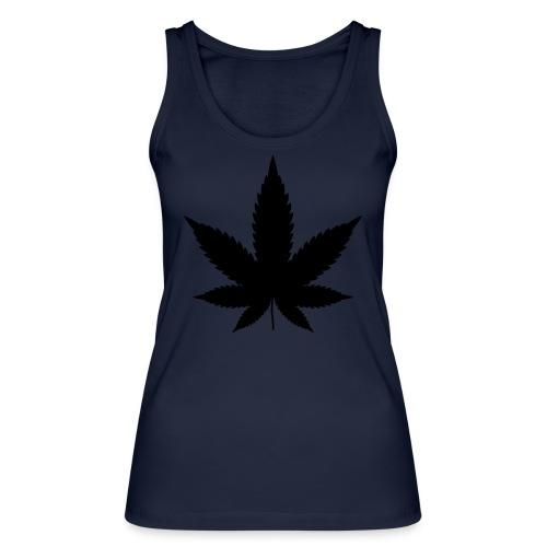 CannabisBlack - Frauen Bio Tank Top von Stanley & Stella