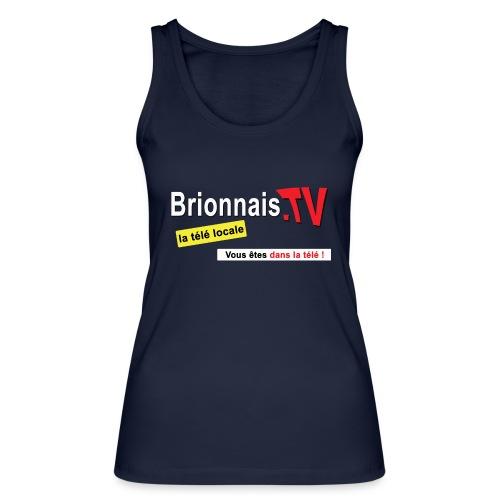 BTV logo shirt dos - Débardeur bio Femme