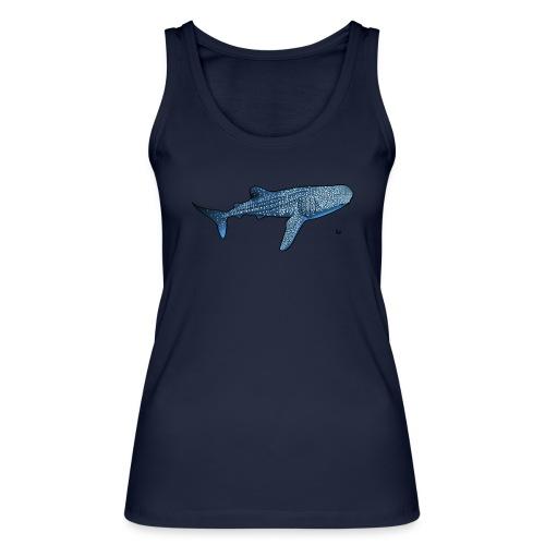 Whale shark - Økologisk singlet for kvinner fra Stanley & Stella