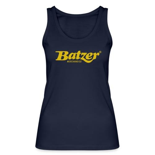 Batzer Logo GEEL - Vrouwen bio tanktop van Stanley & Stella