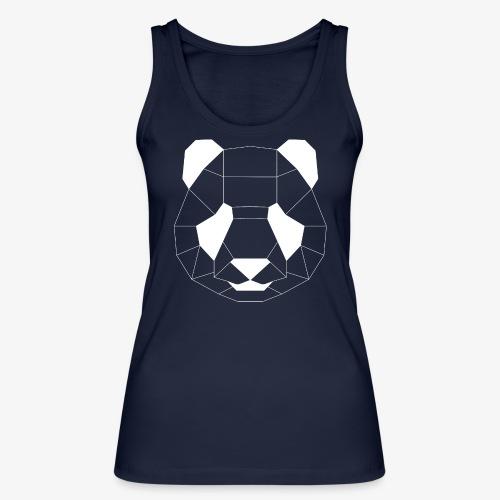 Panda Geometrisch weiss - Frauen Bio Tank Top von Stanley & Stella
