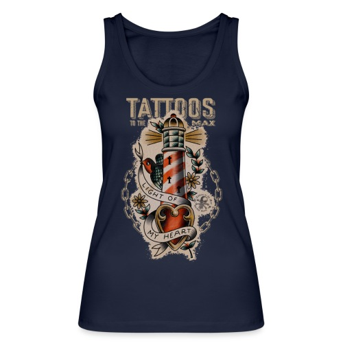 Lighthouse Leuchtturm Tattoos to the Max - Frauen Bio Tank Top von Stanley & Stella