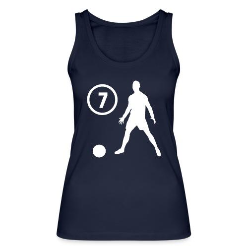 Goal soccer 7 - Vrouwen bio tanktop van Stanley & Stella