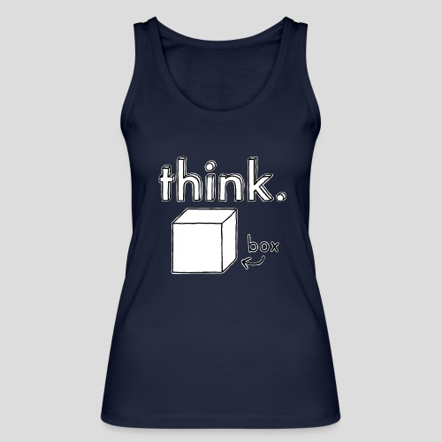 Think Outside The Box Illustration - Women's Organic Tank Top by Stanley & Stella