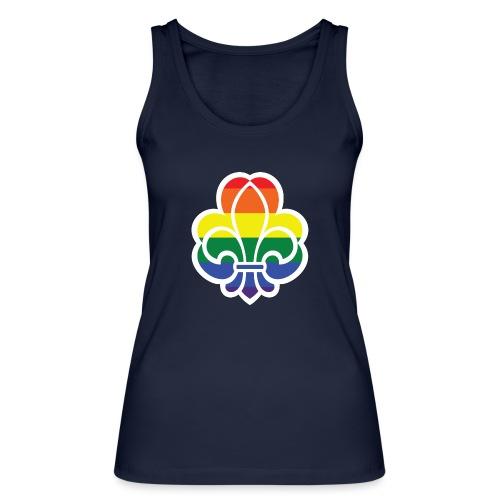 Regnbuespejder jakker og t-shirts mv - Økologisk Stanley & Stella tanktop til damer