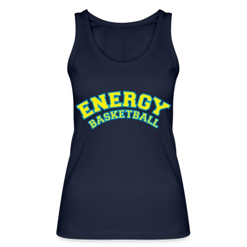 street wear logo giallo energy basketball - Top ecologico da donna di Stanley & Stella