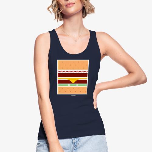 Square Burger - Top ecologico da donna di Stanley & Stella