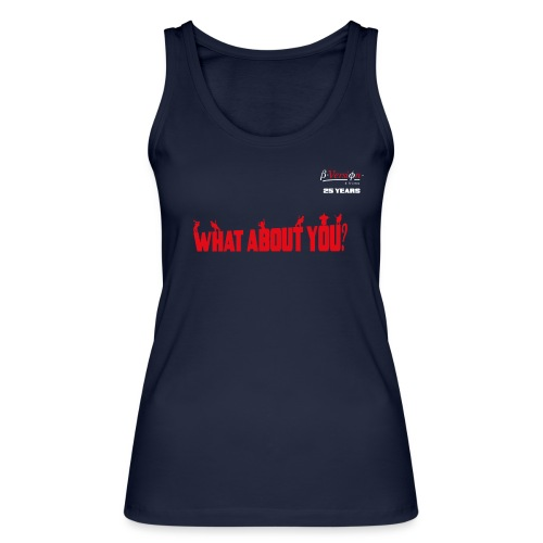 what about you red 25 years - Frauen Bio Tank Top von Stanley & Stella
