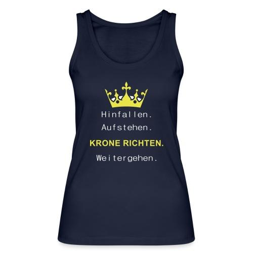 Krone Richten - Frauen Bio Tank Top von Stanley & Stella
