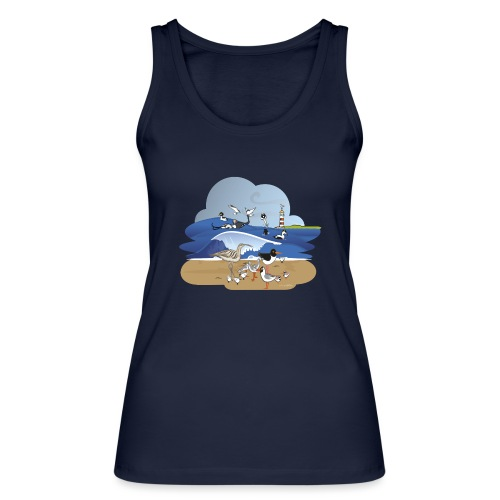 See... birds on the shore - Women's Organic Tank Top by Stanley & Stella