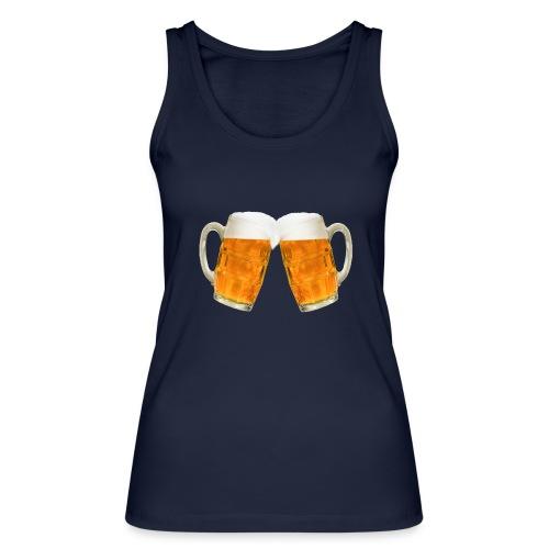 Zwei Bier - Frauen Bio Tank Top von Stanley & Stella