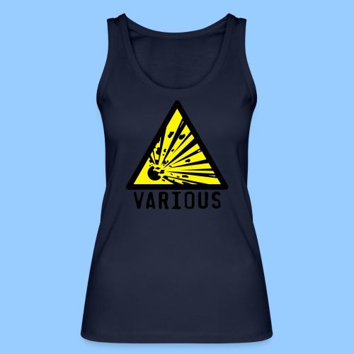 VariousExplosions Triangle (2 colour) - Women's Organic Tank Top by Stanley & Stella