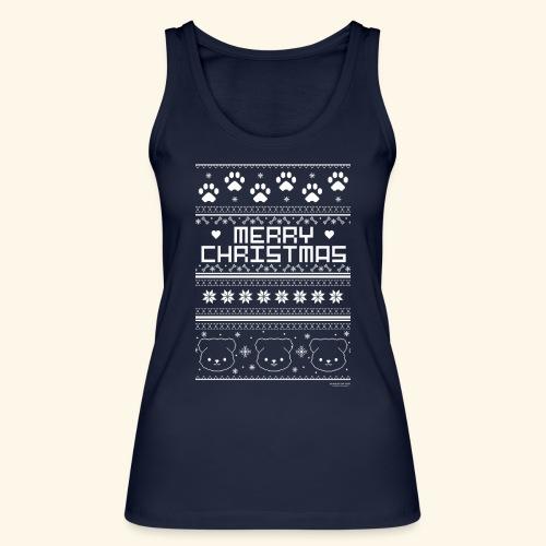Merry Christmas - Frauen Bio Tank Top von Stanley & Stella