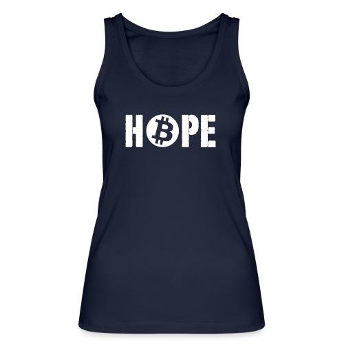 Black HOPE BTC - Débardeur bio Femme