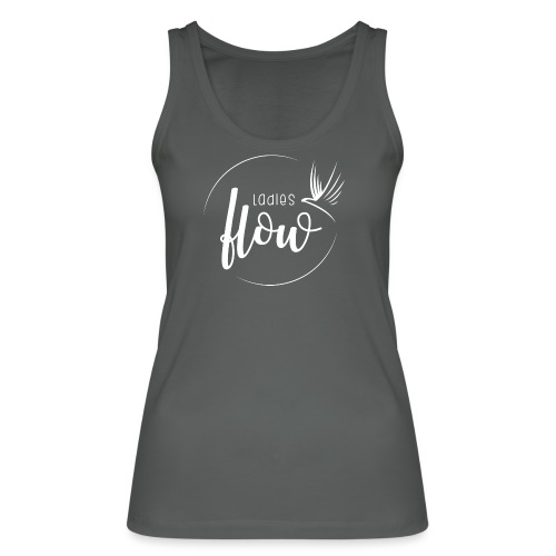 Ladies Flow LO Logo White - Frauen Bio Tank Top von Stanley & Stella