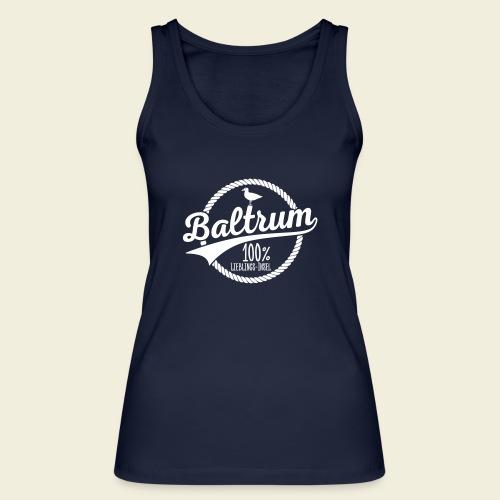 Lieblingsinsel Baltrum - Frauen Bio Tank Top von Stanley & Stella