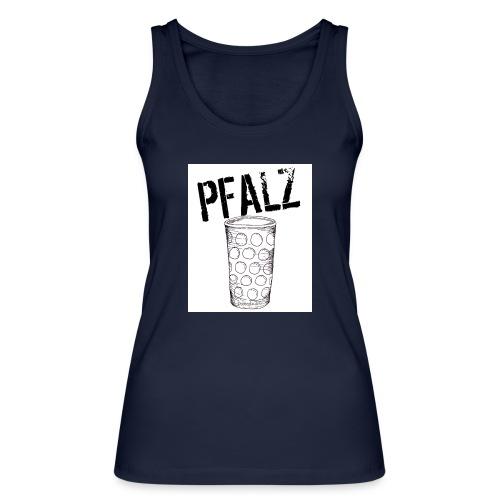 Pfalzshirt mit Dubbeglas, weiß - Frauen Bio Tank Top von Stanley & Stella