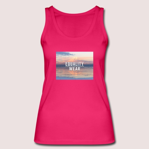 Mountain Equality Edition - Women's Organic Tank Top by Stanley & Stella