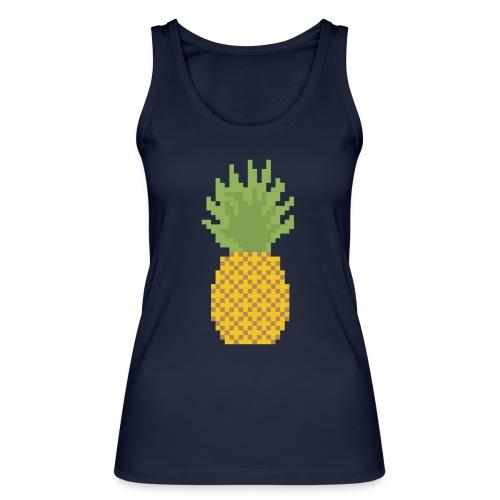 Pineapple Pixel Art - Women's Organic Tank Top by Stanley & Stella