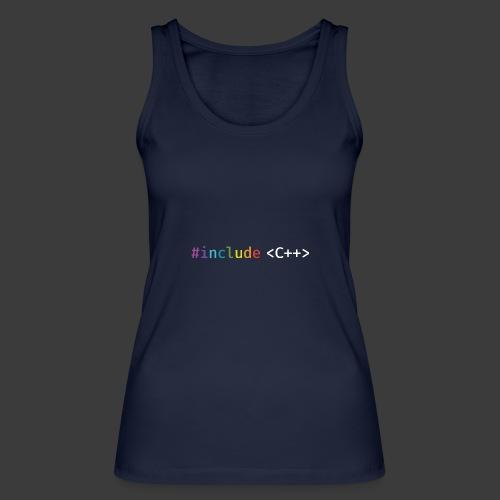 rainbow for dark background - Women's Organic Tank Top by Stanley & Stella
