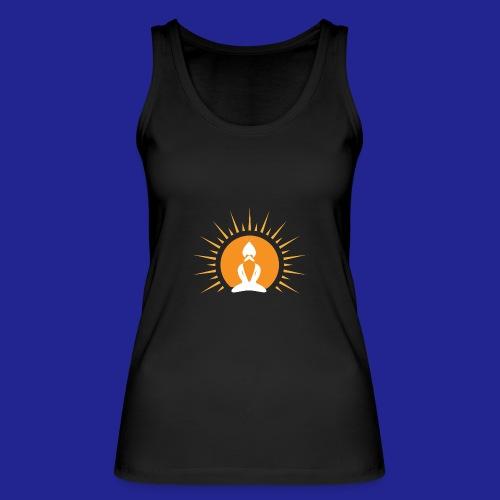 Guramylyfe logo white no text - Women's Organic Tank Top by Stanley & Stella