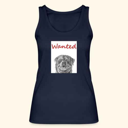 WANTED Rottweiler - Women's Organic Tank Top by Stanley & Stella