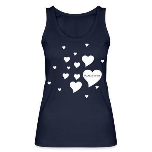 American Spanish Corazones - Camiseta de tirantes ecológica mujer de Stanley & Stella