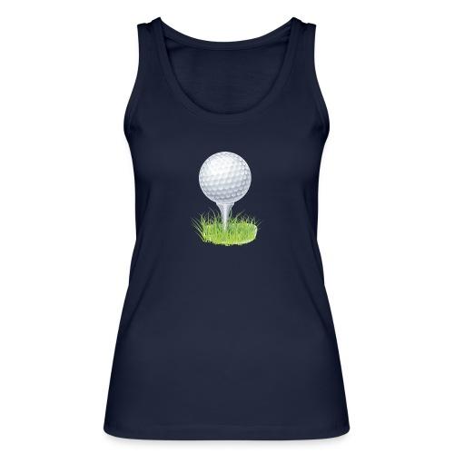 Golf Ball PNG Clipart - Camiseta de tirantes ecológica mujer de Stanley & Stella