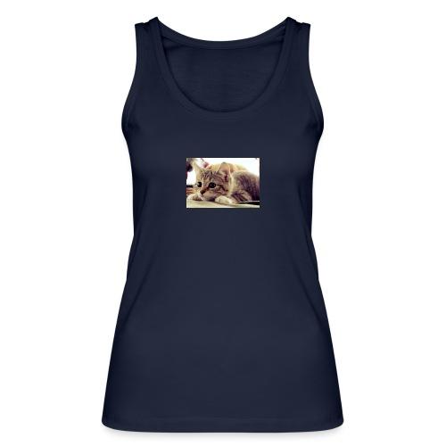 gato tierno - Camiseta de tirantes ecológica mujer de Stanley & Stella