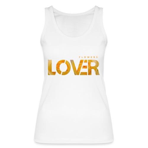 Flowers Lovers - Yellow - Top ecologico da donna di Stanley & Stella