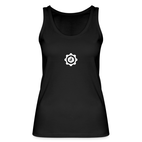 Jebus Adventures Cog White - Women's Organic Tank Top by Stanley & Stella