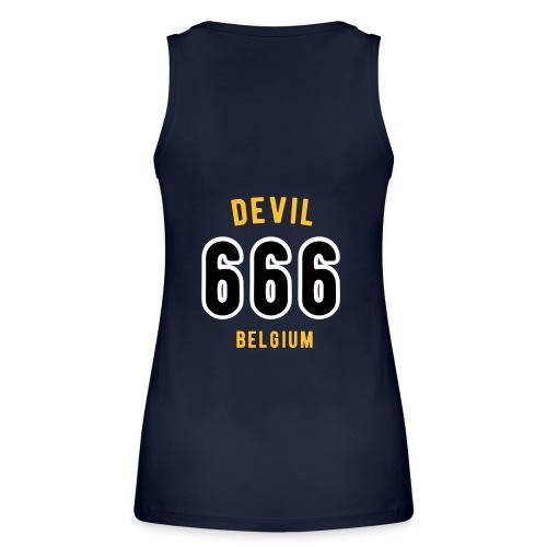 666 devil Belgium - Débardeur bio Femme